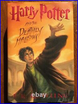 1ST Print. FIRST EDITION. J. K. ROWLING Harry Potter and the Deathly Hallows
