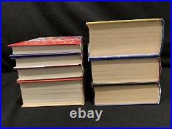 1st Edition, Early & 1st Print U. K. Bloomsbury Harry Potter Set, J. K. Rowling HC