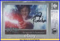 2006 Artbox and the Goblet of Fire Update Harry Potter Daniel Radcliffe READ w2b