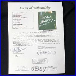 Alan Rickman signed 8x10 Photo JSA LOA Harry Potter Actor d. 2016 B40