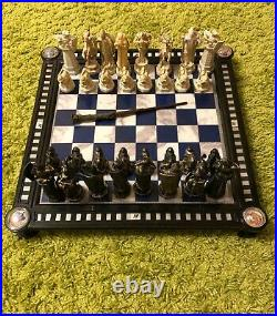 Chess Harry Potter, from original Dagastini Magazine from Russia, the whole set