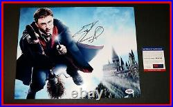 DANIEL RADCLIFFE SIGNED AUTOGRAPHED HARRY POTTER 11X14 Picture Poster PSA