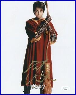 Daniel Radcliffe Harry Potter Autographed Signed 8x10 Photo JSA COA EF373