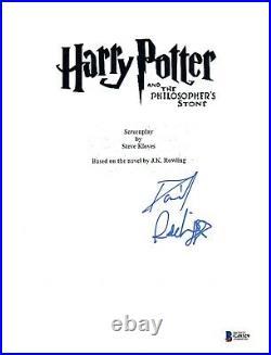 Daniel Radcliffe Signed HARRY POTTER & THE PHILOSOPHER'S STONE Script BAS COA