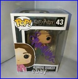 Emma Watson Hand Signed Autograph COA Harry Potter Funko Pop