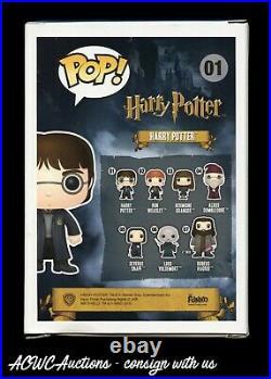Funko POP Harry Potter Harry Potter Signed by Daniel Radcliffe JSA Cert