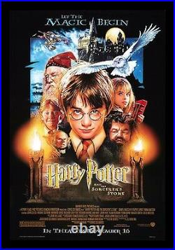 HARRY POTTER AND THE SORCERERS STONE CineMasterpieces ORIGINAL DS MOVIE POSTER