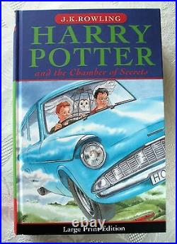 HARRY POTTER and the CHAMBER OF SECRETS UK First Edition 1st Print. HARDBACK