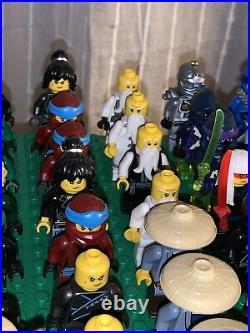 HUGE LEGO MiniFigure Lot Ninjago original characters 70 people