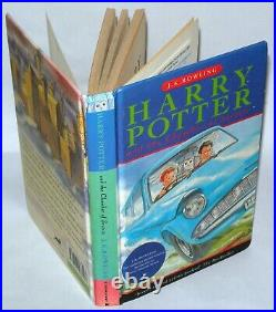 Harry Potter And The Chamber Of Secrets, 1st Ed/ 1st Print, Hardback- Bloomsbury