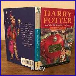 Harry Potter And The Philosopher's Stone, J K Rowling (1997), UK, 1st/10th