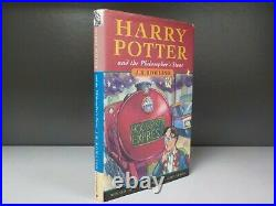 Harry Potter And The Philosophers Stone 1st Edition 12th Print 1997 ID862