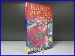 Harry Potter And The Philosophers Stone J K Rowling 1st Edition 15th Print ID872