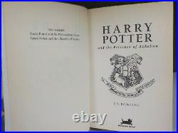 Harry Potter And The Prisoner Of Azkaban 1st Edition 1999 J K Rowling ID869