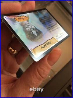 Harry Potter Base Set Character Card 8/116 Holo Foil TCG CCG Original Rare