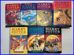 Harry Potter Book Set Bloomsbury Hardbacks UK Complete 1-7 Plus Extras