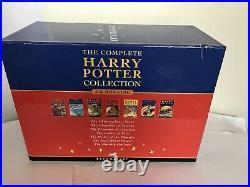 Harry Potter Children's Boxset Hardback Book Coverslip Set 7 Slipcase Bloomsbury