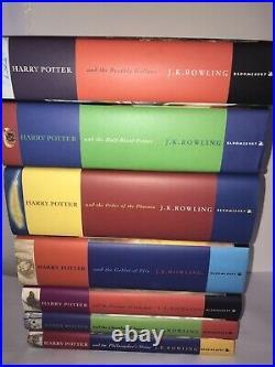 Harry Potter Children's Boxset Hardback Book Coverslip Set Slipcase Bloomsbury