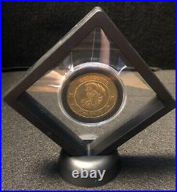 Harry Potter Deathly Hollows Bank Coin Movie Prop