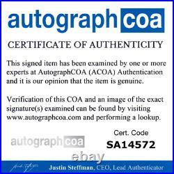 Harry Potter Half Blood Prince Signed X2 Signed Script Radcliffe & Grint ACOA
