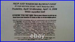 Harry Potter Movie Film Props Collectibles Hollywood Studios Auction item A1