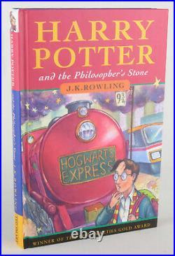 Harry Potter Trilogy Ted Smart Hardback Books 2nd/1st/1st Editions