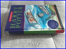 Harry Potter and the Chamber of Secrets, JK Rowling, first Bloomsbury hardback