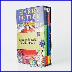 Harry Potter and the Philosopher's Stone First Edition Gift Set Signed