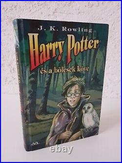 Harry Potter and the Philosophers Stone 1st Hungarian Edition 1999 language