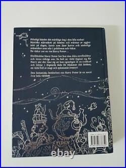 Harry Potter and the Philosophers Stone 1st Swedish Edition 2000 pre-movie font