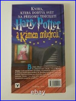 Harry Potter and the Philosophers Stone 2nd Czech Edition 2000 (#02)