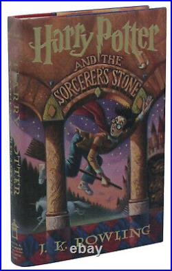 Harry Potter and the Sorcerer's Stone JK ROWLING First Edition 1st Print 1998