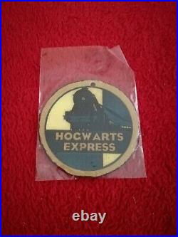Harry Potter original screen used movie prop Luggage Tag Rowling with COA