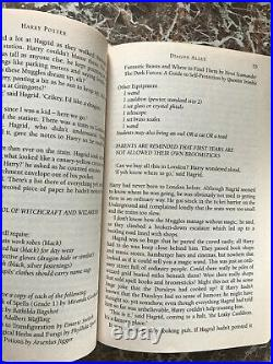 Harry Potter &the Philosopher/Sorcerer's Stone1997 First C Edition J. K. Rowling