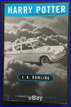 Harry Potter very rare original UK Adult cover book set ALL 1st/1st Editions