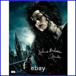 Helena Bonham Carter Autographed Harry Potter Bellatrix Lestrange 11x14 Photo