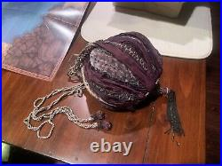 Hermione Beaded Bag Rare Noble Collection Retired Harry Potter Original
