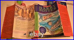JK. ROWLING HARRY POTTER 2nd BOOK-CHAMBER OF SECRET/FINE DJ TRUE 1st Ed/1st ISSUE
