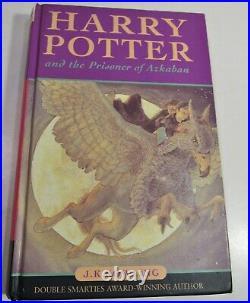 J. K. ROWLING-HARRY POTTER 3rd BOOK PRISONER OF AZKABAN/FINE 1st Ltd. Ed. /1st ISSUE