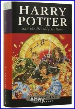 J K ROWLING, born 1965 / Harry Potter and the The Deathly Hallows Signed 1st ed