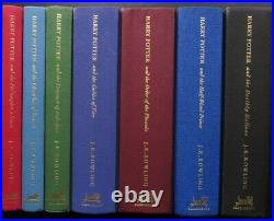 J K Rowling, Complete Set of Harry Potter Deluxe Edition, includes 1st Printings