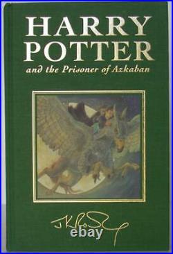 J K Rowling / HARRY POTTER and the Prisoner of Azkaban Signed 1st #107342