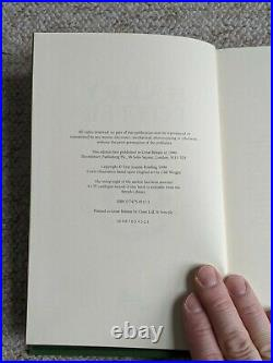 J K Rowling Harry Potter Prisoner of Azkaban Deluxe 1st Edition 1st Impression