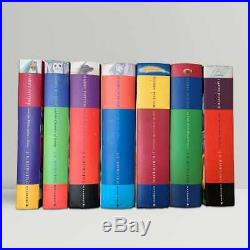 J. K. Rowling Harry Potter The Complete Set of Large Print Editions 1997-2007