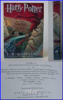 J K Rowling / Harry Potter and the Chamber of Secrets Adv Reading Copy #010123