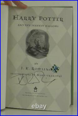 J K Rowling / Harry Potter and the Deathly Hallows Signed 1st Edition #1311070