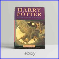 J. K. Rowling Harry Potter and the Prisoner of Azkaban First UK Edition 1999