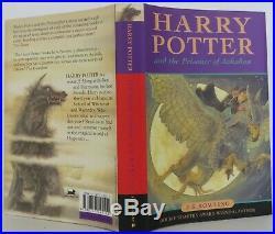 J K Rowling / Harry Potter and the Prisoner of Azkaban Signed 1st #2005025