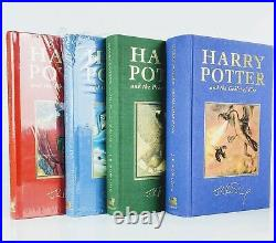 J. K. Rowling The Harry Potter Books Complete Set of First Deluxe Editions