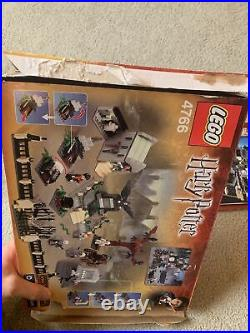 Lego Harry Potter Goblet of Fire Graveyard Duel (4766) With Box Original Owner